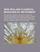 New Zealand Classical Musicians by Instrument