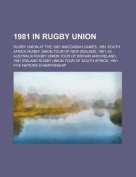 1981 in Rugby Union