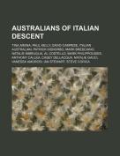 Australians of Italian Descent