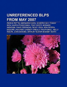 Unreferenced Blps from May 2007