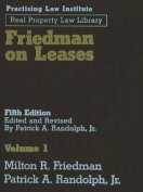 Friedman on Leases (3 Vols)