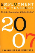 Employment Law Yearbook: 2007