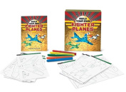 Build Your Own Fighter Planes [With Book(s) and 57 Template Cards and Reusable Templates and 5 Color Markers]