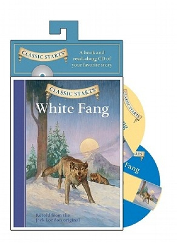 White Fang Book Cover : White fang classic starts audio series by jack london free
