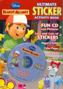 Handy Manny Ultimate Sticker Book [With CDROM and Stickers and Punch-Outs]
