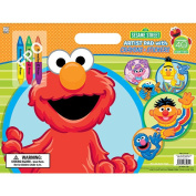 Sesame Street Artist Pad [With Crayons]