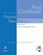 Practice Tests Plus FCE New Edition Students Book with Key/CD-ROM Pack