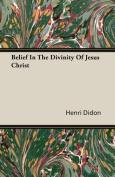 Belief in the Divinity of Jesus Christ