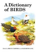 A Dictionary of Birds