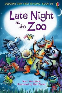 Late Night at the Zoo (Usborne Very First Reading)