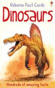 Dinosaurs (Usborne Fact Cards)