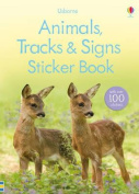 Animal Tracks and Signs Sticker Book
