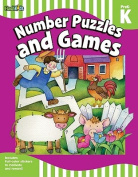 Number Puzzles and Games, PreK-K