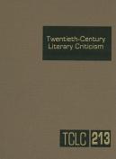 Twentieth-Century Literary Criticism, Volume 213
