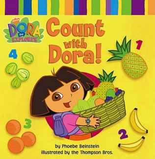 Count with Dora (Dora the Explorer) [Board book]