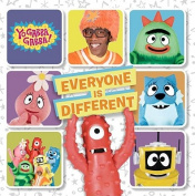 Everyone Is Different (Yo Gabba Gabba! (Hardcover)) [Board book]