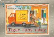 Tiger Runs Away