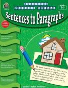 Sentences to Paragraphs, Grades 2-3