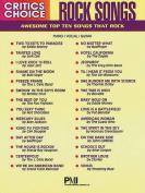 Critics Choice: Rock Songs