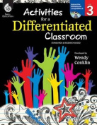 Shell Education 50735 Activities for a Differentiated Classroom Level 3