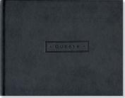 Artisan Guest Book/Classic Black