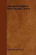 Journal of Stephen Watts Kearny - Part I