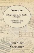 Concertino - For Piano And Orchestra