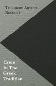 Crete in the Greek Tradition