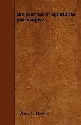The Journal of Spculative Philosophy