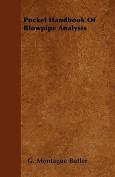 Pocket Handbook of Blowpipe Analysis