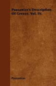 Pausanias's Description of Greece. Vol. IV.
