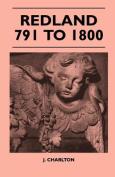 Redland 791 to 1800