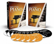 Learn & Master Piano, Standard Edition [With Lesson Book and 5 CDs and 10 DVDs and Access Code]