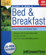Start & Run a Bed & Breakfast [With CDROM]