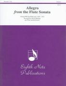 Allegro from the Flute Sonata