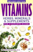 Vitamins, Herbs, Minerals, & Supplements