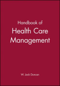 Handbook for Health Care Management