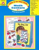 Math Centers K-1