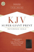 Bible Kjv Super Giant Print Reference Black