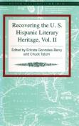 Recovering the Us Hispanic Literary Heritage