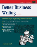 Better Business Writing