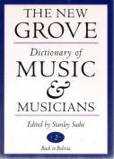 The New Grove Dictionary of Music and Musicians