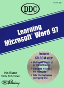 Learning Ms Word 97