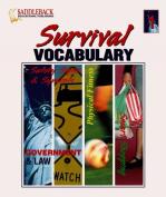 Survival Vocabulary 1 (Curriculum Binders