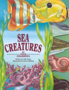 Sea Creatures (At Your Fingertips) [Board book]