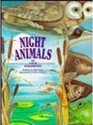 Night Animals (At Your Fingertips) [Board book]