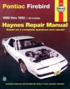 Pontiac Firebird (1982-92) Automotive Repair Manual