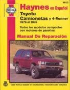 Toyota Camionetas y 4-Runner 1979 Al 1995 (Haynes Manuals  [Spanish]