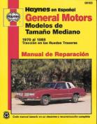General Motors Modelos de Tama O Mediano (Haynes Manuals  [Spanish]