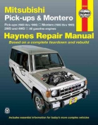 Mitsubishi Pick-Ups (1983-1996) and Montero (1983-1993) Automotive Repair Manual